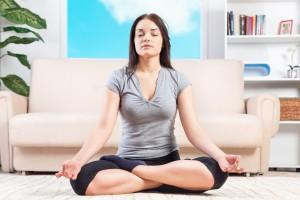 meditação em casa